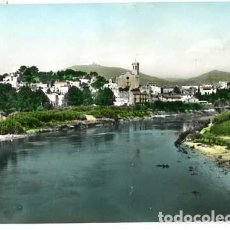 Postales: BARCELONA SAN BAUDILIO DE LLOBREGAT RIO LLOBREGAT Y VISTA PARCIAL DE LA VILLA. A. ZERKOWITZ. Lote 112994211