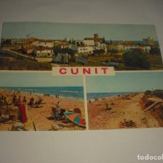Postales: CUNIT 1, DIVERSOS ASPECTOS DE LA CIUDAD Y LA PLAYA. Lote 113000151