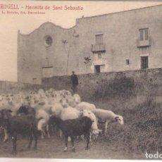Postales: POSTAL DE PALAFRUGELL, - ERMITA DE SAN SEBASTIA .. Lote 113008847