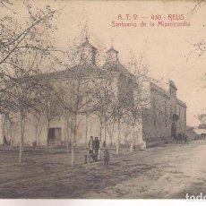 Postales: POSTAL A.T.V - 430 - REUS ,SANTUARIO DE LA MISERICORDIA .. Lote 113010143