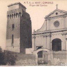 Postales: POSTAL A.T.V - 4057 - CAMBRILS - VIRGEN DEL CAMINO -. Lote 113010683