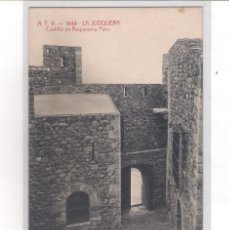 Postales: POSTAL A.T.V - 1848 - LA JUNQUERA - CASTILLO DE REQUESENS - PATIO -. Lote 113016127