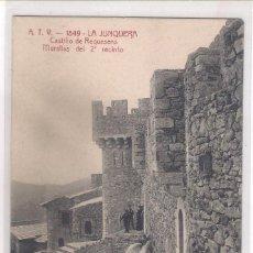 Postales: POSTAL A.T.V - 1849 -LA JUNQUERA - CASTILLO DE REQUESENS - MURALLAS DEL 2ª RECINTO -. Lote 113016403