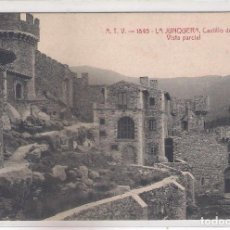 Postales: POSTAL A.T.V - 1845 - LA JUNQUERA -CASTILLO DE REQUESENS - VISTA PARCIAL -. Lote 113016559