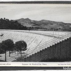 Postales: RIUDECAÑAS Nº 2 .- PANTANO PRESA .- FOTO DEPORTES FERRÉ .- SIN CIRCULAR . Lote 113117335