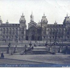 Postales: BARCELONA-PALACIO DE JUSTICIA- B Y P Nº 14- 1910-FOTOGRÁFICA. Lote 113986819