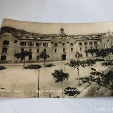 Postales: MAGNIFICA FOTO POSTAL ANTIGUA DE IGUALADA PLAZA CASTELL EDIFICIO ESCUELAS PIAS. Lote 114080715