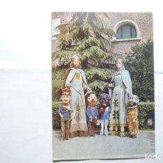 Postales: POSTAL RIPOLL -GIGANTE Y CABEZUDOS. Lote 145912872
