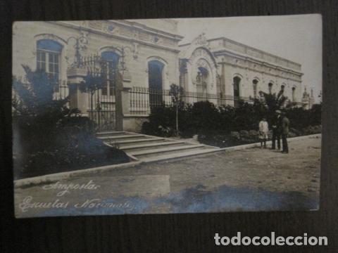 AMPOSTA. - ESCUELAS NACIONALES - FOTOGRAFICA - VER REVERSO - (52.179) (Postales - España - Cataluña Antigua (hasta 1939))