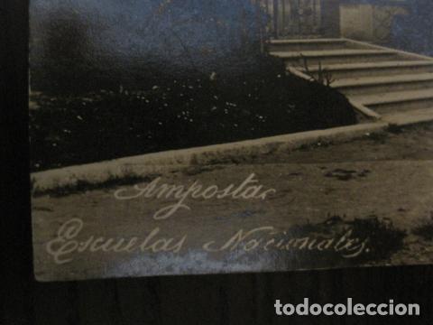 Postales: AMPOSTA. - ESCUELAS NACIONALES - FOTOGRAFICA - VER REVERSO - (52.179) - Foto 3 - 114285083