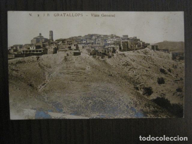 GRATALLOPS - 2 JB.- VISTA GENERAL - FOTOGRAFICA - VER REVERSO - (52.180) (Postales - España - Cataluña Antigua (hasta 1939))