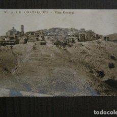 Postales: GRATALLOPS - 2 JB.- VISTA GENERAL - FOTOGRAFICA - VER REVERSO - (52.180) . Lote 114285215