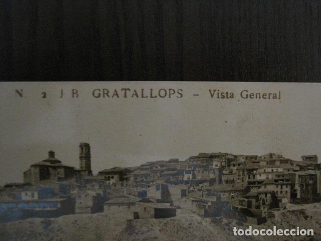 Postales: GRATALLOPS - 2 JB.- VISTA GENERAL - FOTOGRAFICA - VER REVERSO - (52.180) - Foto 2 - 114285215