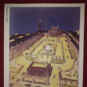 Exposición internacional de barcelona 1929 las tres plazas escalonadas en el aspecto 3º