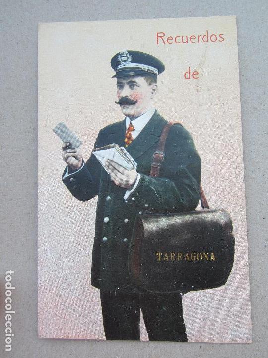 POSTAL RECUERDOS DEL CARTERO , TARRAGONA (Postales - España - Cataluña Antigua (hasta 1939))