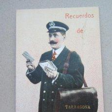 Postales: POSTAL RECUERDOS DEL CARTERO , TARRAGONA. Lote 114499987