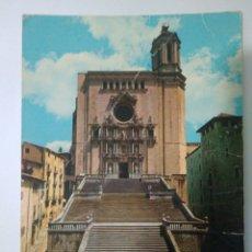 Postales: FOTO POSTAL AÑOS 70 GERENA CATEDRAL,CIRCULADA CON SELLO FRANCO. Lote 114537692