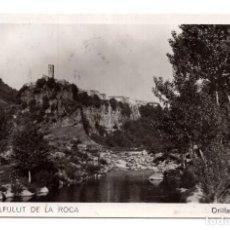 Postales: CASTELLFULLIT DE LA ROCA.- ORILLAS DEL FLUVIÁ. Lote 114715591
