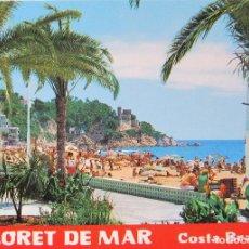 Postales: LLORET DE MAR - LOTE DE POSTALES EN PERFECTO ESTADO + OBSEQUIO LLAVERO. Lote 114425547