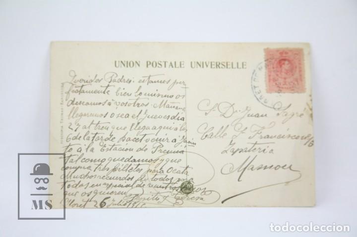 Postales: Antigua Postal -Lloret De Mar Nº 19/Festa major, 24 Juliol. Processó Marítima -Ed. Thomas - Año 1916 - Foto 2 - 114957667