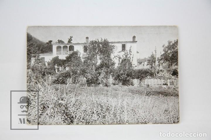 ANTIGUA POSTAL - CAN YLLA, GUALBA / MONTSENY, BARCELONA - ED. LUIS TASSO - AÑOS 30 (Postales - España - Cataluña Antigua (hasta 1939))