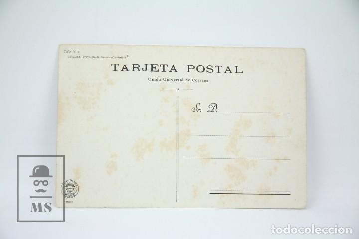 Postales: Antigua Postal - Can Ylla, Gualba / Montseny, Barcelona - Ed. Luis Tasso - Años 30 - Foto 2 - 114959871