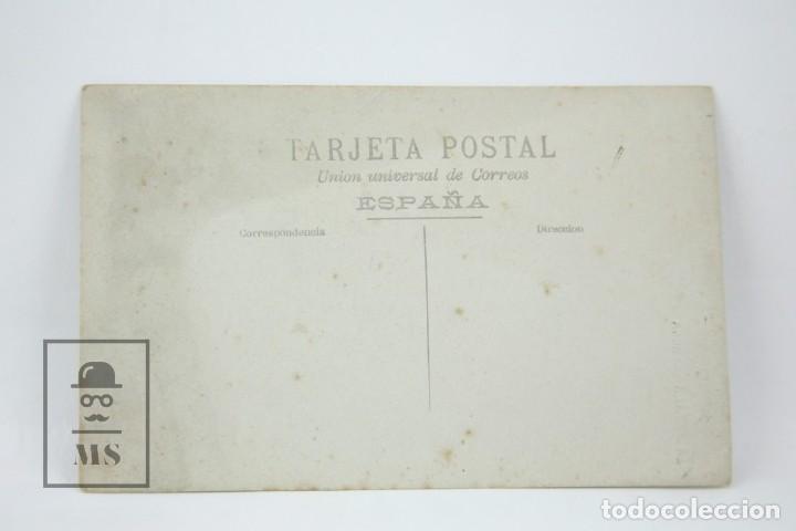 Postales: Antigua Postal Fotográfica - La Escala, temporal de Llevant Nº 28 / Girona - Ed. Esquirol - Año 20 - Foto 2 - 114961299