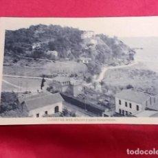 Postales: TARJETA POSTAL. LLORET DE MAR. CHALETS Y PUNTA ROMPATIMONS. L. ROISIN. Lote 115039383