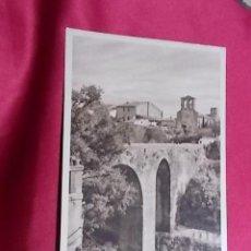 Postales: TARJETA POSTAL. TARRASA. PUENTE ROMANICO DE SAN PEDRO. FOTO ALTIMIRA. Lote 115040815