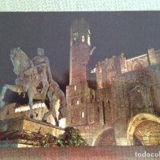 Postales: POSTAL BARCELONA BARRIO GOTICO MONUMENTO A BERENGUER EL GRANDE. Lote 134731226