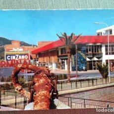 Postales: POSTAL LLORET DE MAR TERMINAL DE AUTOBUSES. Lote 115363427
