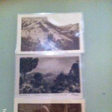 Postales: 3 POSTALES ANTIGUAS MONTSERRAT. Lote 115406267