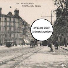Postales: POSTAL BARCELONA - PUERTE DEL ÁNGEL - HAUSER Y MENET Nº 3048 - EXCELENTE ESTADO. Lote 115458919