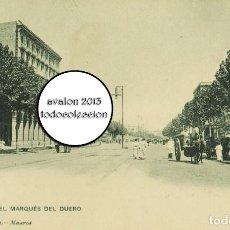 Postales: POSTAL BARCELONA - CALLE DEL MARQUES DEL DUERO - HAUSER Y MENET Nº 631 - EXCELENTE ESTADO. Lote 115467195