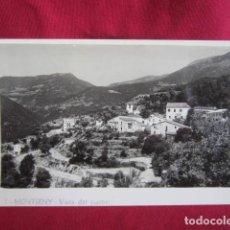 Postales: MONTSENY - VISTA DEL PUEBLO. Lote 115568511