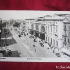 Postales: BARCELONA - ESTACION DE FRANCIA. Lote 115568659
