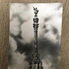 Postales: ANTIGUA POSTAL BARCELONA MONUMENTO A COLÓN FOTO J CEBOLLERO SERIE 2 NUM 71. Lote 115576479