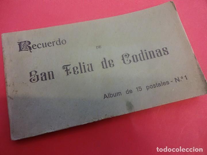 SAN FELIU DE CODINAS. BLOC 15 POSTALES. (Postales - España - Cataluña Antigua (hasta 1939))