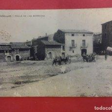 Postales: ALMACELLAS. CALLE DE LAS BARRACAS. Lote 115583079