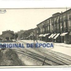 Postales: (PS-55499)POSTAL DE GIRONELLA-ESTACION. Lote 115584847