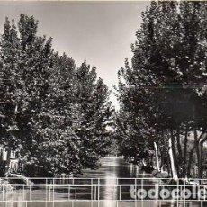 Postales: ROQUETES - 8 CANAL DE LA DERECHA DEL EBRO. Lote 115626475