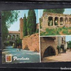 Postales: PERELADA. DIVERSOS ASPECTOS. Lote 115635567