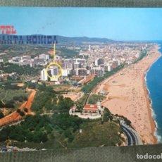 Postales: ANTIGUA POSTAL CALELLA HOTEL SANTA MONICA . Lote 115644795