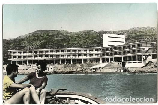 TARRAGONA ALCANAR COSTA DORADA HOTEL CARLOS III, PLAYA. FOTO DAUFI, ED. DASSOY. ESCRITA (Postales - España - Cataluña Moderna (desde 1940))