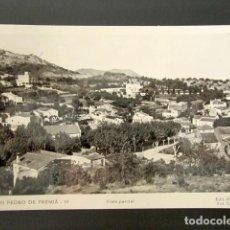 Postales: POSTAL SAN PEDRO DE PREMIÁ. BARCELONA. VISTA PARCIAL. CIRCULADA. AÑO 1961.. Lote 115847743