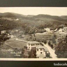 Postales: POSTAL FOTOGRÁFICA SAN QUÍRICO DE SAFAJA. BARCELONA. ABELLA Y SOLÁ. CIRCULADA.. Lote 115849239
