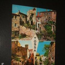 Postales: TOSSA DE MAR GERONA VARIAS VISTAS. Lote 115923103
