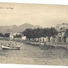 Postales: POSTAL DE ROSAS, GIRONA. LA PLAYA. FOT. FONOLLERAS. SIN CIRCULAR.. Lote 116133199