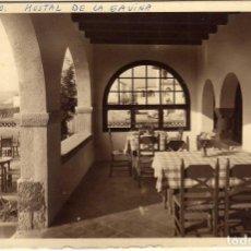 Postales: BONITA POSTAL - S´AGARÓ (GIRONA) - HOSTAL DE LA GAVINA - UNA GALERIA. Lote 116135443
