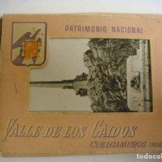 Postales: POSTAL ACORDEON ANTIGUO DEL VALLE DE LOS CAIDOS CUELGAMUROS MADRID (#). Lote 116135515